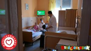 Bohócdoktorok az onkológián